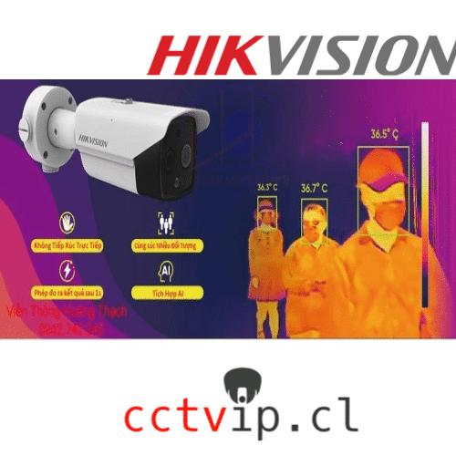 BULLET TERMAL DETECCION DE FIEBRE IP / 4MP QHD / DETECCION 1,5-3M /LENTE OPTIVO 4MM / IR 40M / DS-2TD2617B-6/PA / HIKVISION - CCTVIP CHILE Soluciones en tecnología y seguridad.